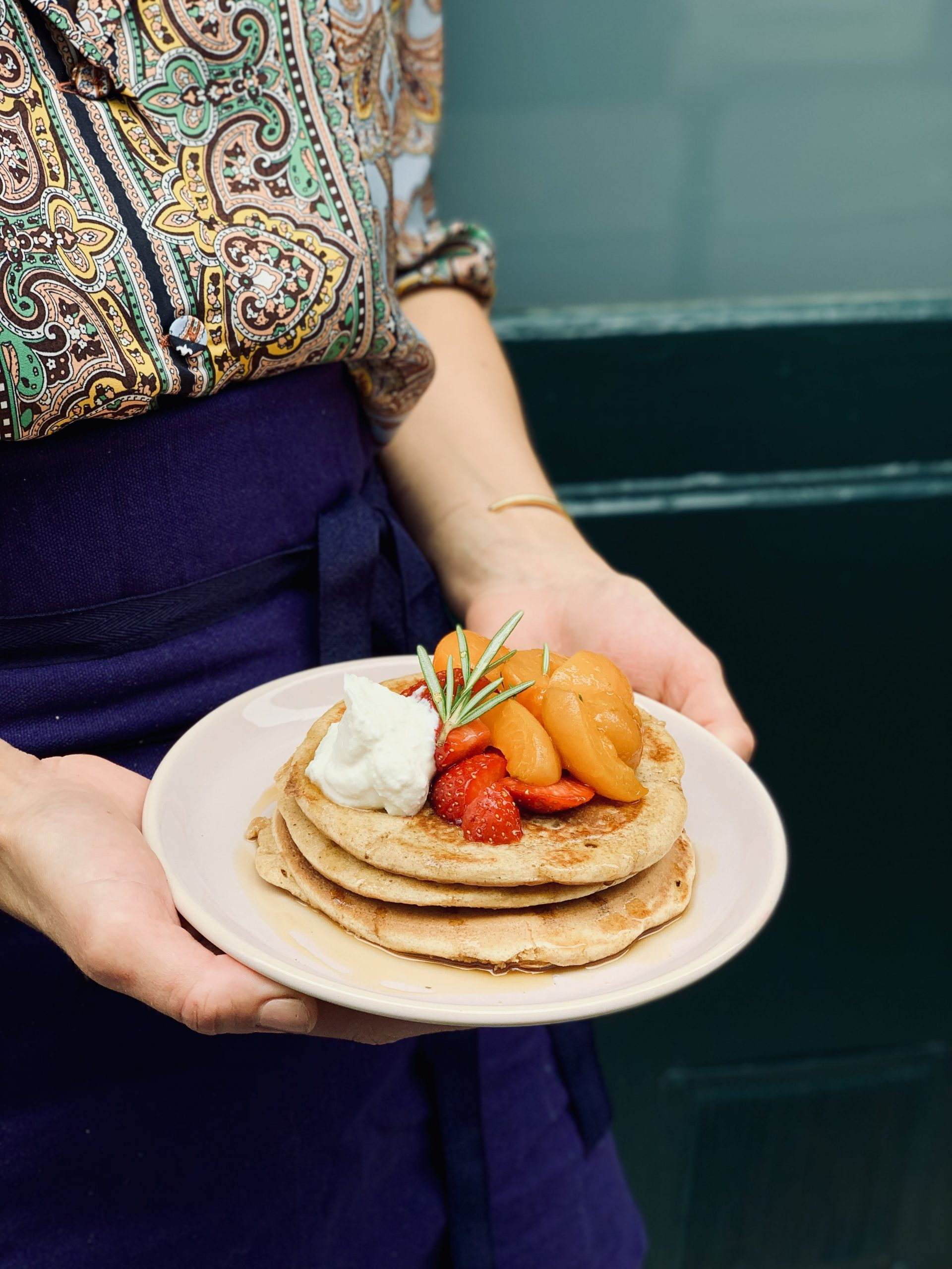 Café Berry et ses pancakes