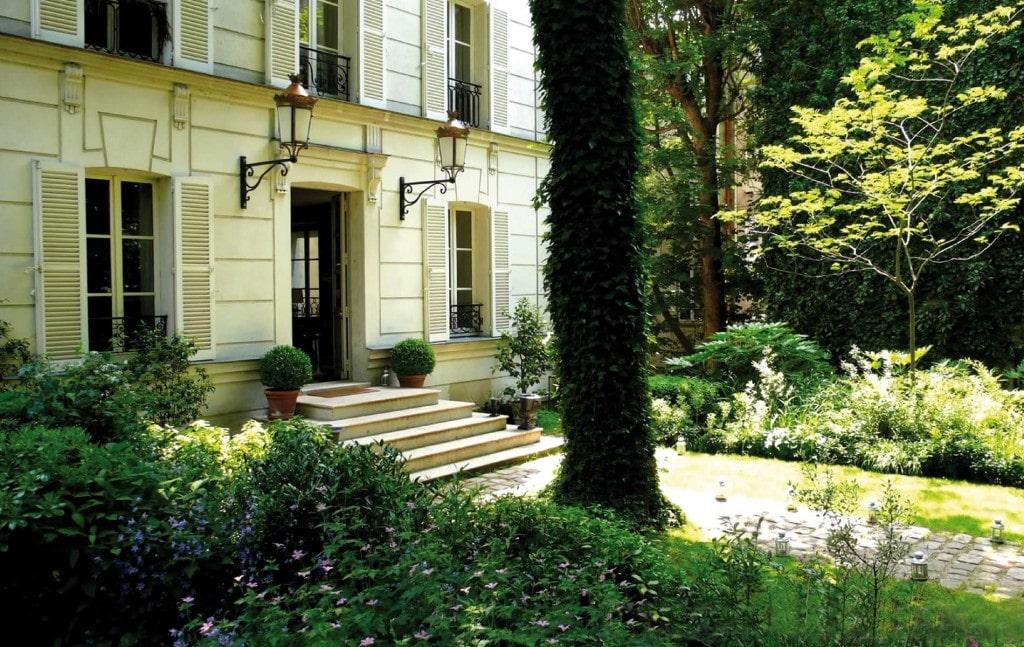 Hôtel Particulier de Montmartre terrasse