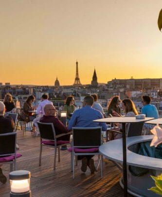 Nos rooftops parisiens du moment pour boire un verre