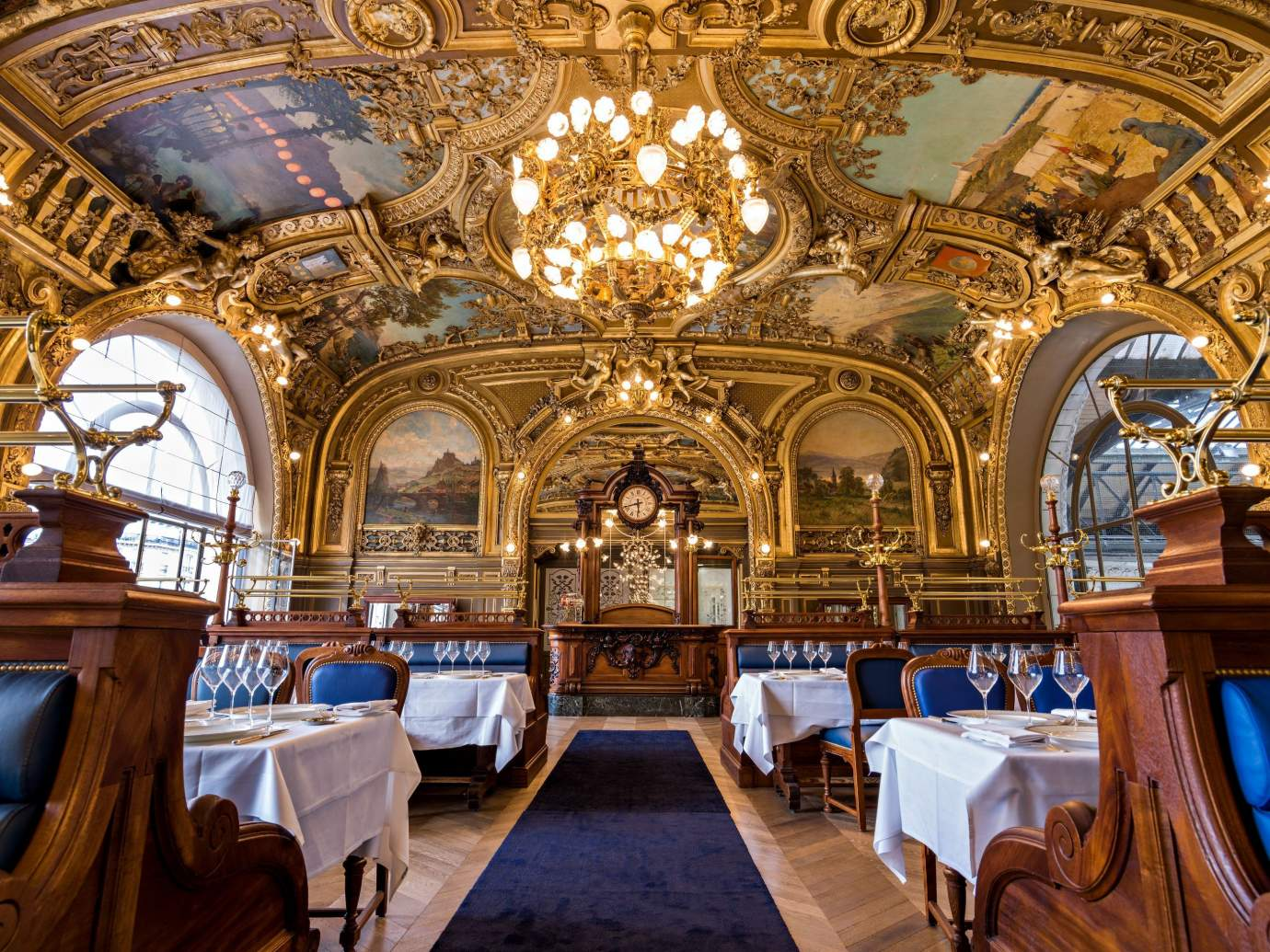 Train Bleu, restaurant à la Gare de Lyon