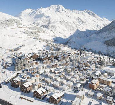 Station de ski suisse