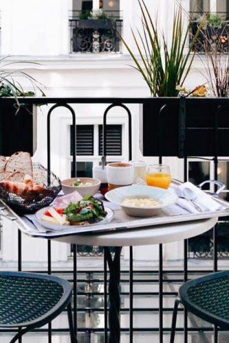 Le meilleur hôtel pour un brunch en chambre à Paris