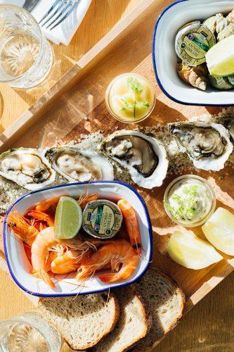 Polpo, la péniche Seafood à découvrir au bord de l'eau à Paris